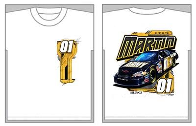 3f76dc38 #01 Mark Martin 06 U.S. Army NASCAR T-Shirt. More images.