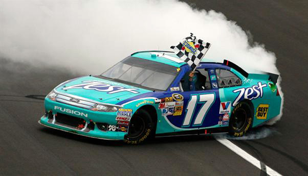 2012 Ford Fusion For Sale >> 2012 Matt Kenseth #17 Zest - Kansas Win / Raced Diecast