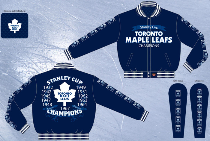san francisco e43d5 3e17d Toronto Maple Leafs / NHL Stanley Cup Champions - Wool ...