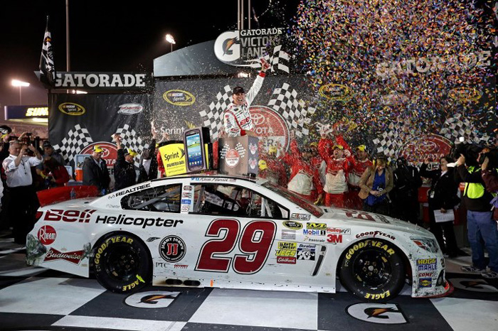 2013 Kevin Harvick #29 Bell Helicopter - Richmond Win ...