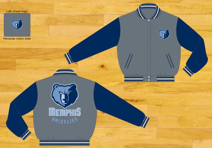 new arrival 55a00 fa955 Larger picture. Description  More Details  Specifications. JH Design Jacket  Memphis Grizzlies ...