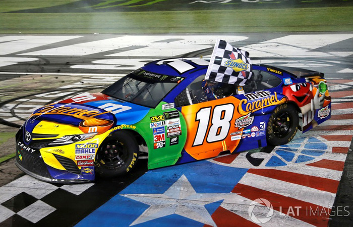Kyle Busch Racing Car
