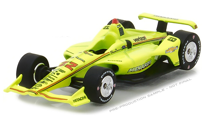 2018 Simon Pagenaud #22 Menards - Verizon IndyCar 1/64 Diecast