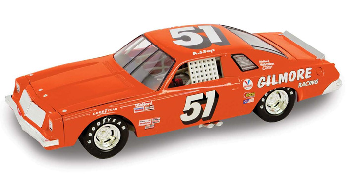 1976 A.J. Foyt #51 Gilmore Racing Chevy Laguna 1/64 Diecast