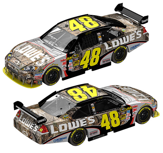 jimmie johnson makeup. jimmie johnson car 2009