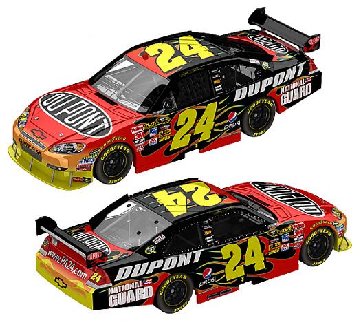 2010 Jeff Gordon 24 Dupont Diecast