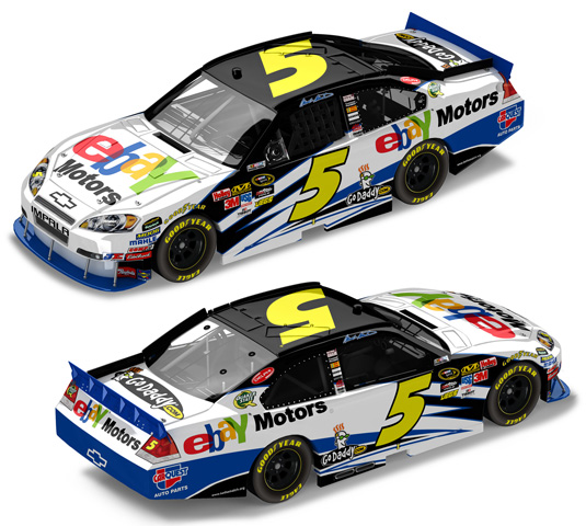 2010 Mark Martin 5 Ebay Motors Diecast