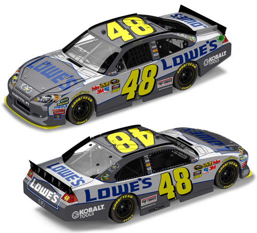 Jimmie Johnson Chevy >> 2011 Jimmie Johnson 48 Lowe S Chevy 100 Diecast