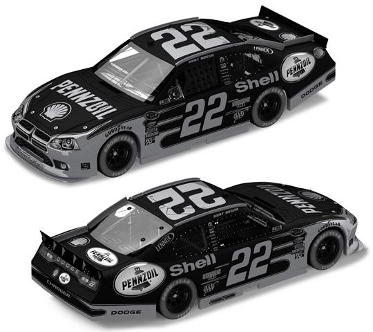 2011 Kurt Busch #22 Shell