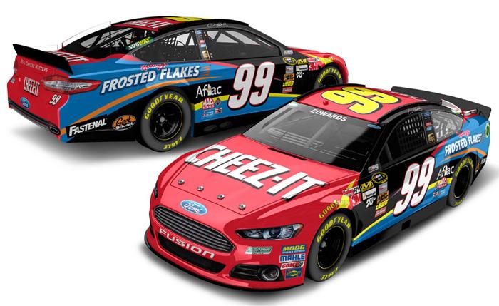 2014 Ford Fusion For Sale >> Carl Edwards Diecast - Carl Edwards NASCAR Diecast Cars