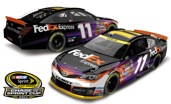 2014 Denny Hamlin 11 Fedex Express Chase For The Sprint