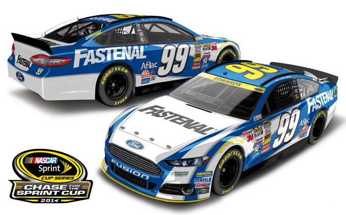 Edwards Chase on Nascar Race Car Numbers