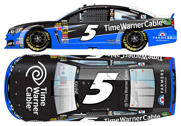 0f64b32b3dc 2014 Kasey Kahne  5 Time Warner Cable Diecast. More images.