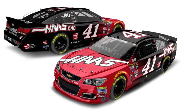 Kurt Busch Stewart Haas Racing Car Number