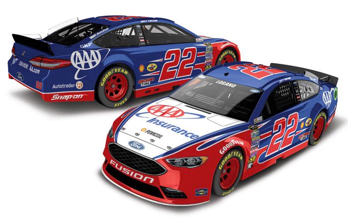 NASCAR 2016 JOEY LOGANO #22 FLEETWOOD RV 1//64 DIECAST CAR
