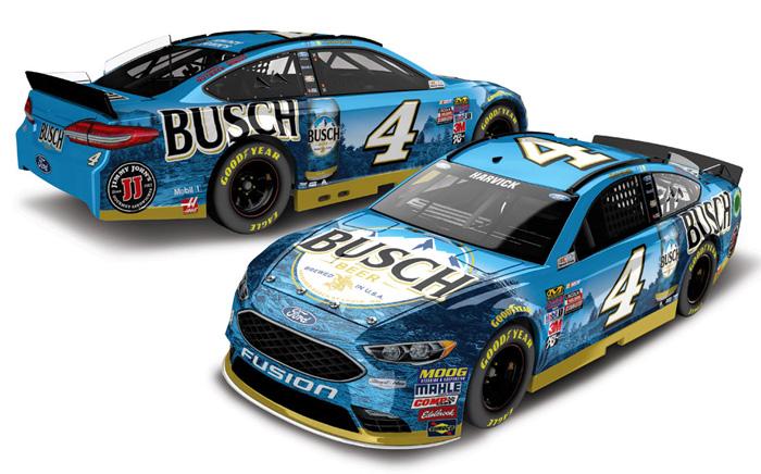 NASCAR 2016 KEVIN HARVICK # 4 MOBIL 1  1//64 CAR