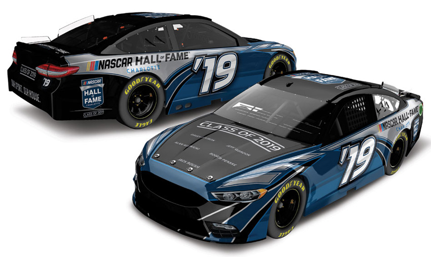 2019 NASCAR Hall of Fame '19 Class of 2019 1/64 Diecast