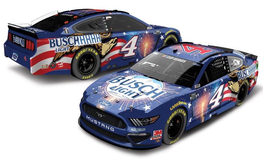 Kevin Harvick #4 Buschhhhh Light 2020 Mustang NASCAR Action 1:64 scale car