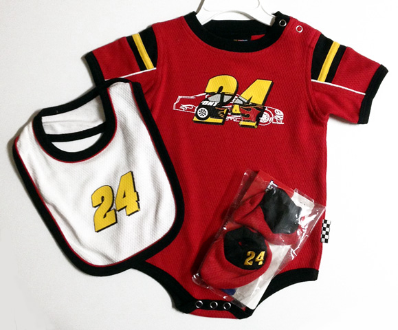 Jeff Gordon Baby Clothes