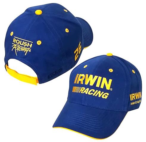 26 Irwin Racing - NASCAR Pit Cap 713539d7c0f