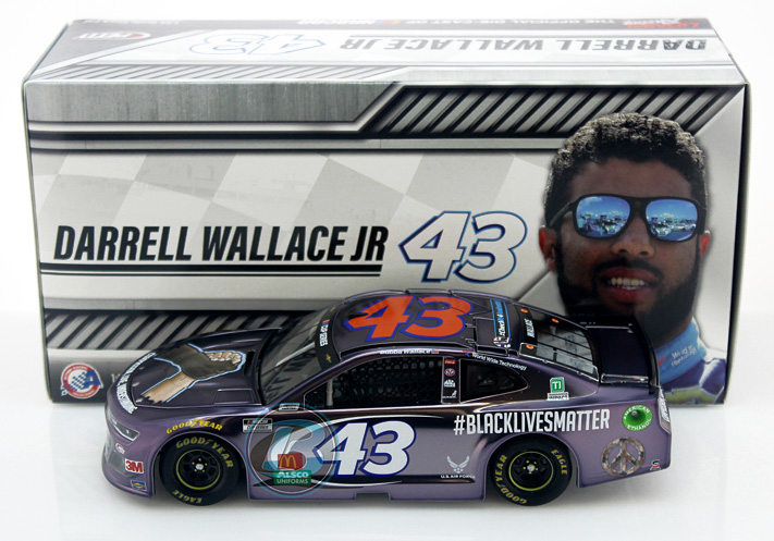 #43 Bubba Wallace Black Lives Matter 1//64th Slot Car  Waterslide Decal