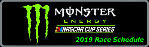 2019 Monster Energy NASCAR Cup Race Schedule