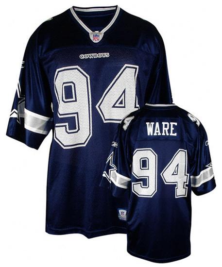 DeMarcus Ware  94 Dallas Cowboys - Navy NFL Replica Jersey. Buy now. More  images. 5edd4528f