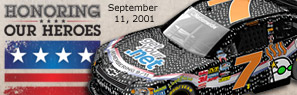 Honoring Our Heroes NASCAR Diecast by Action