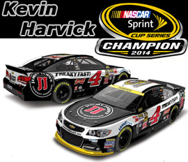 2014 Kevin Harvick #4 Jimmy John's - NASCAR Sprint Cup Champ Diecast, by Action