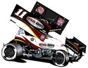 2014 Steve Kinser #11 Bad Boy Buggies - Dirt Sprint Car, by Action